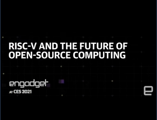 "Video: Art Swift @CES  2021! ""RISC-V and the Future of Open-Source Computing"""