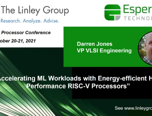 See Esperanto at the Linley Fall Processor Conference 2021
